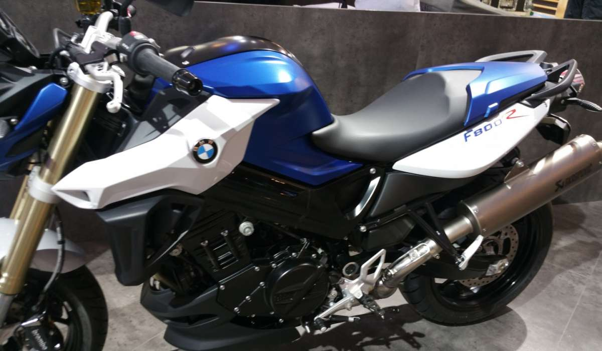 BMW F 800 R all'EICMA 2015