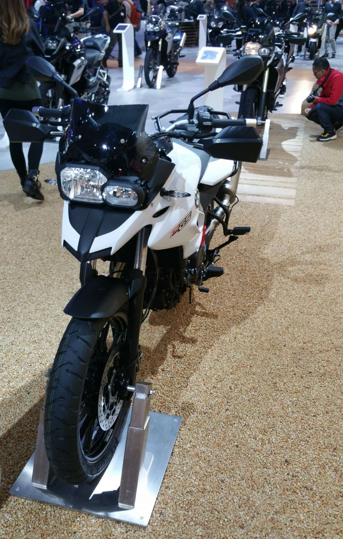BMW F700 GS all'EICMA 2015