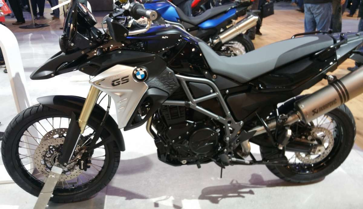 BMW F800 GS all'EICMA 2015