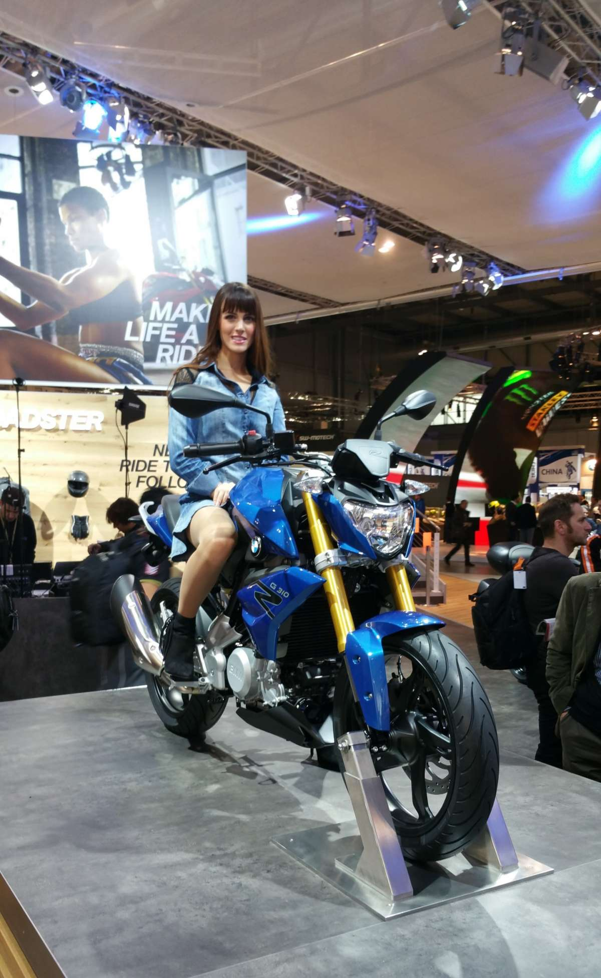 BMW G 310 R all'EICMA 2015