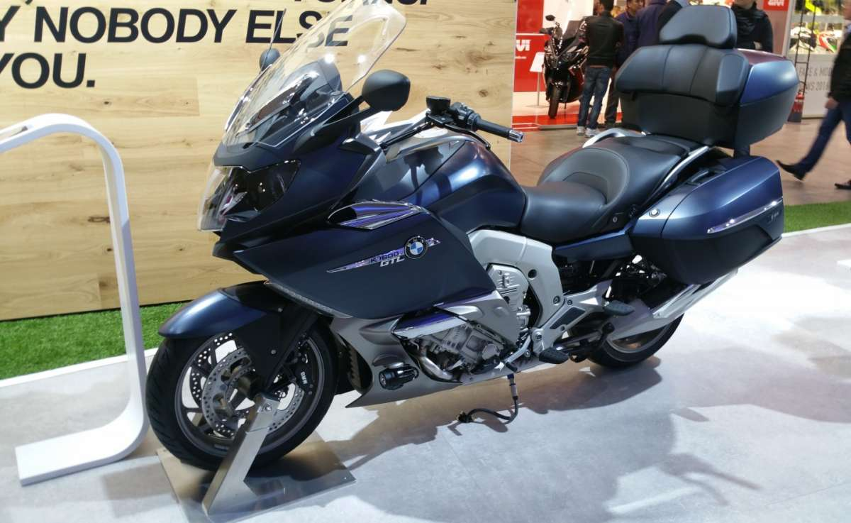 BMW K 1600 GTL all'EICMA 2015