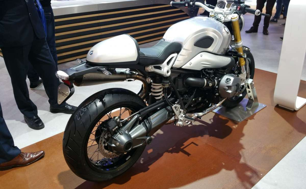 BMW R nine T all'EICMA 2015