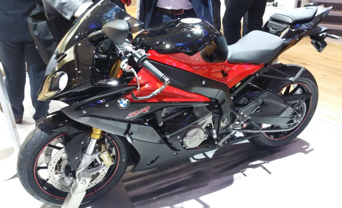 BMW S 1000 RR all'EICMA 2015
