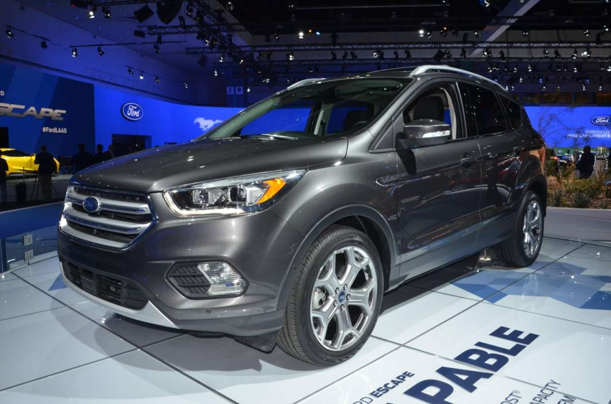 Ford Escape al Salone di Los Angeles 2015 (1)