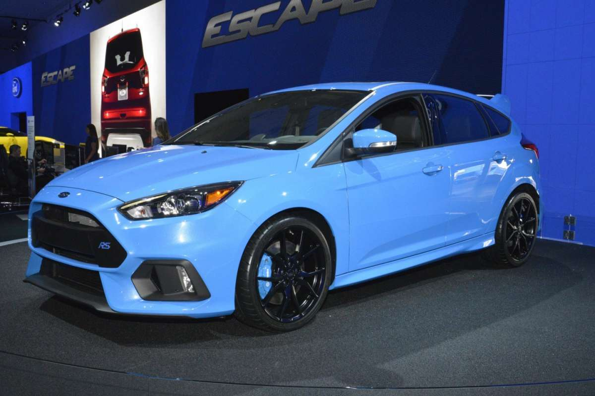 Ford Focus RS al Salone di Los Angeles 2015 (4)