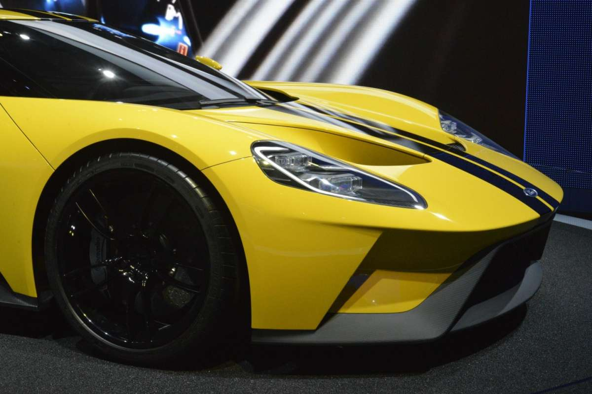 Ford GT al Salone di Los Angeles 2015 (1)