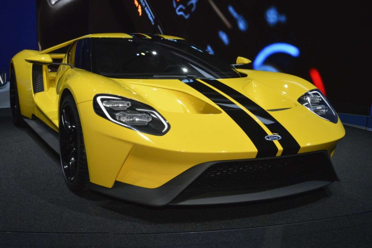 Ford GT al Salone di Los Angeles 2015 (6)