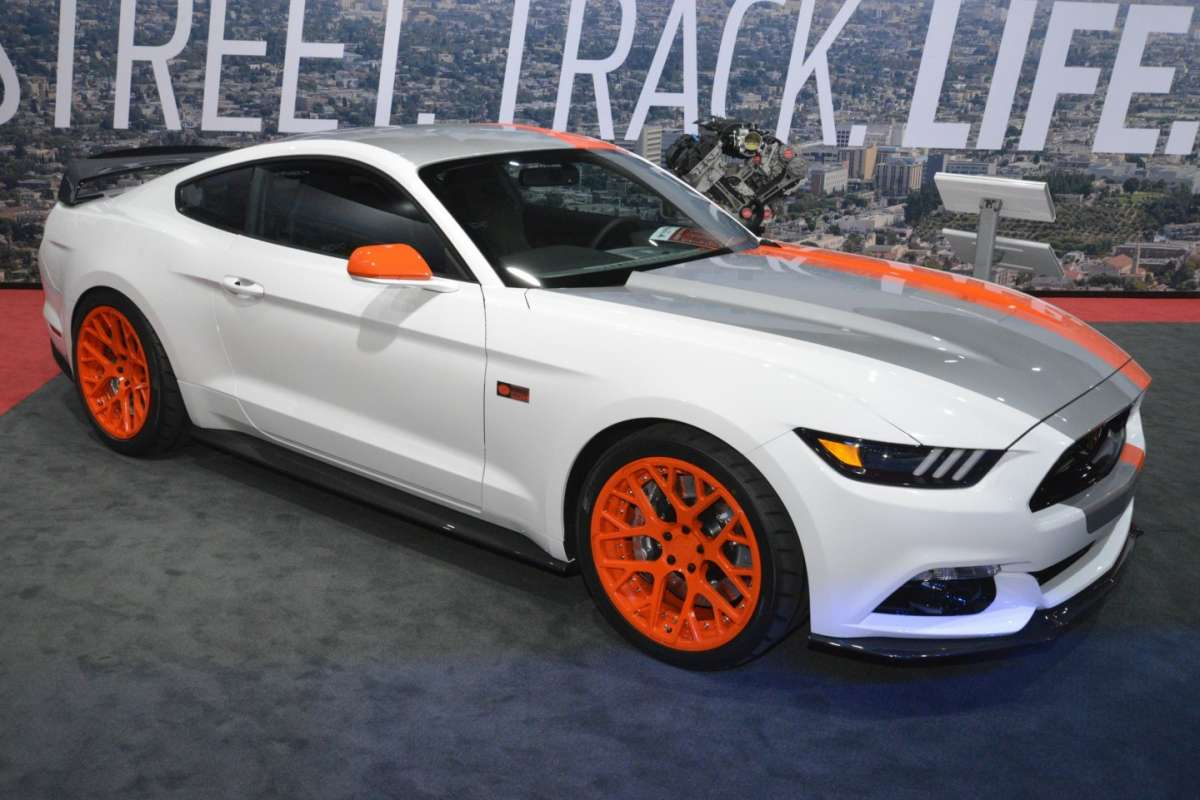Ford Mustang al Salone di Los Angeles 2015 (1)