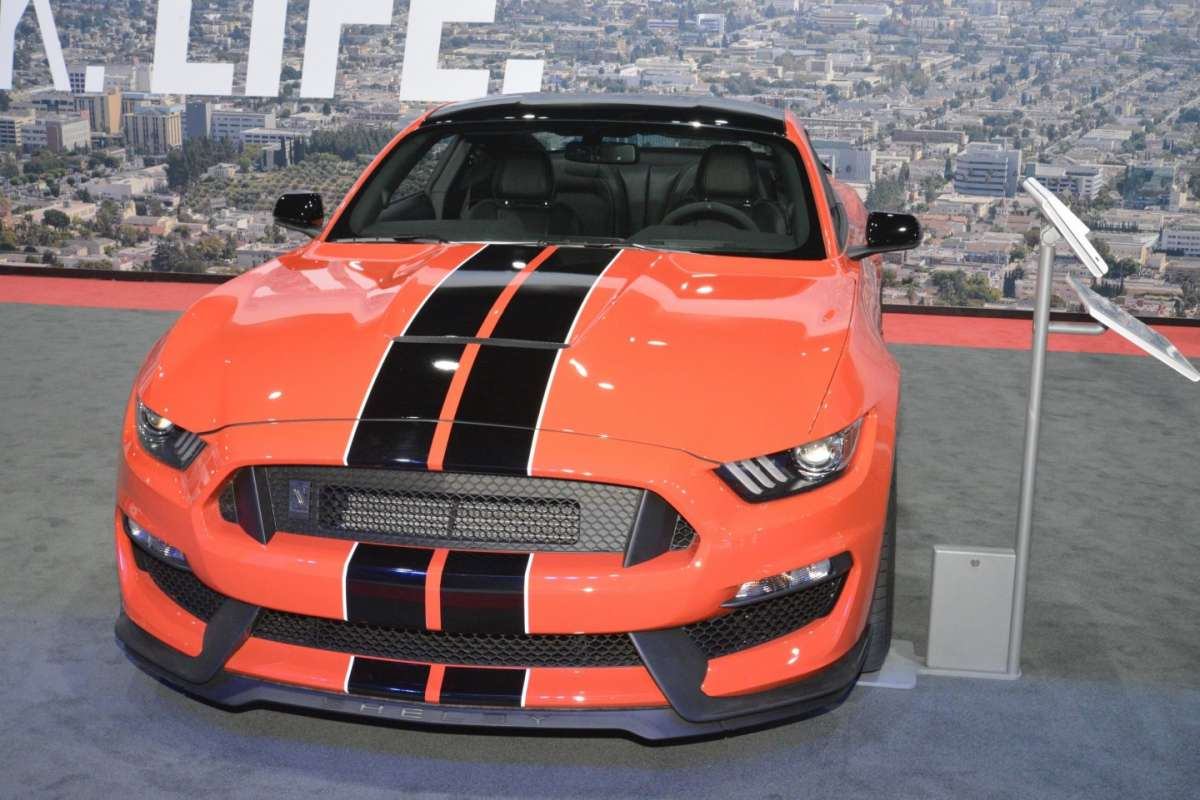 Ford Mustang al Salone di Los Angeles 2015 (2)