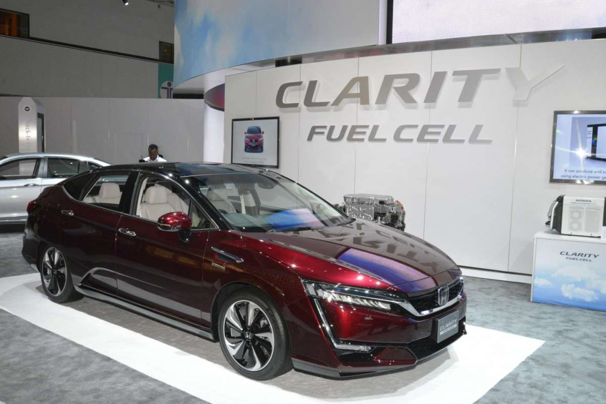Honda Clarity al Salone di Los Angeles 2015