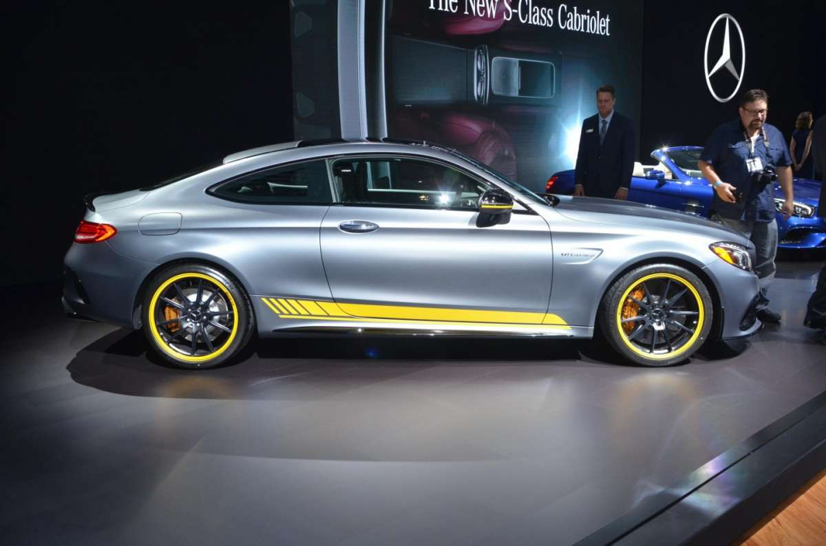 Mercedes Classe C coupe al Salone di Los Angeles 2015 (2)