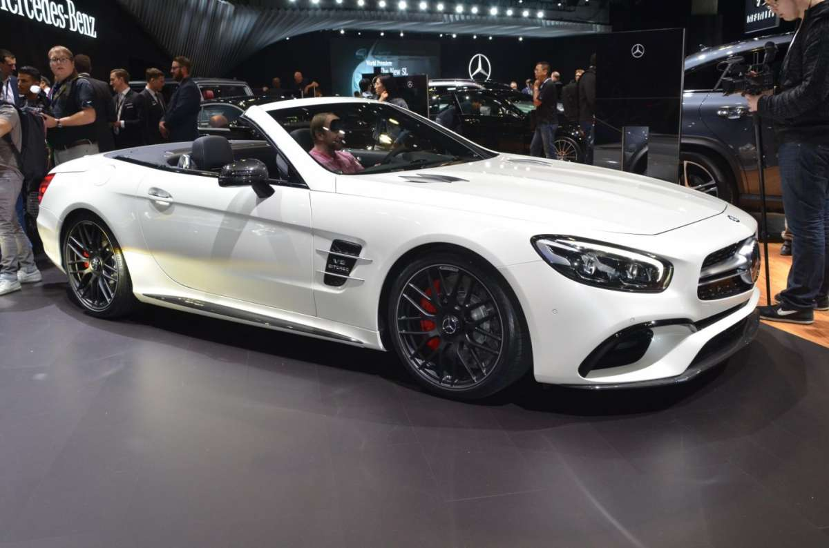 Mercedes SL al Salone di Los Angeles 2015