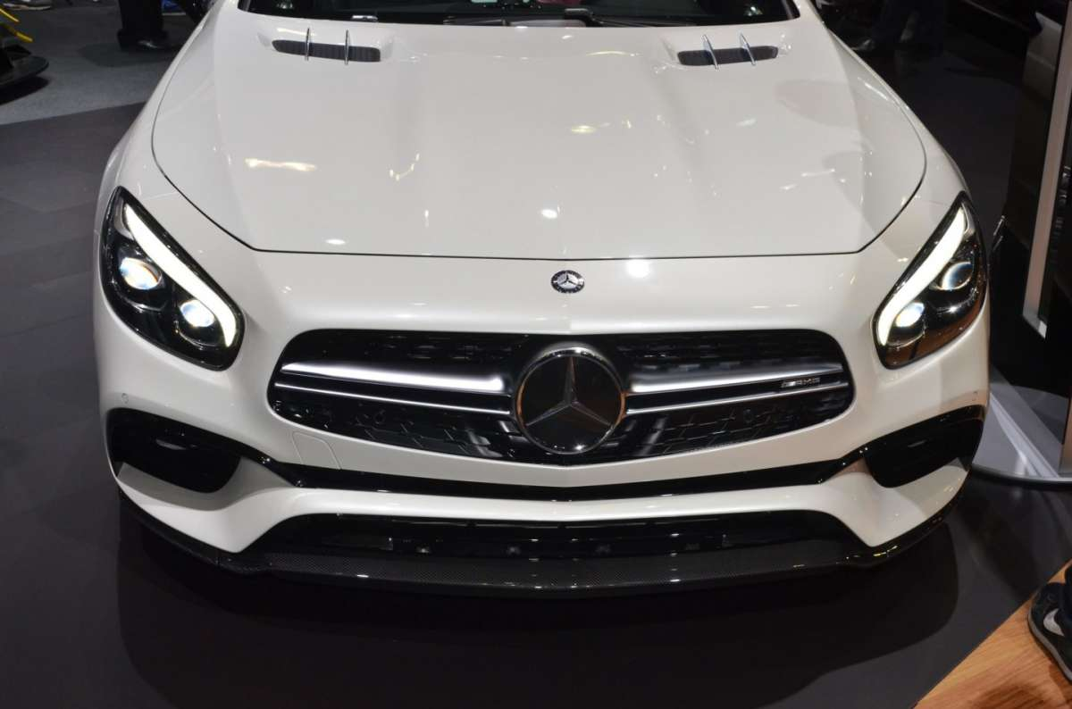 Mercedes SL al Salone di Los Angeles 2015 (2)