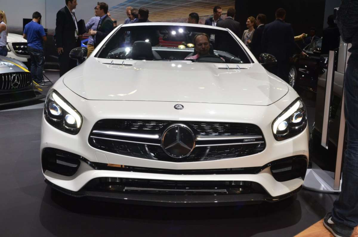Mercedes SL al Salone di Los Angeles 2015 (3)