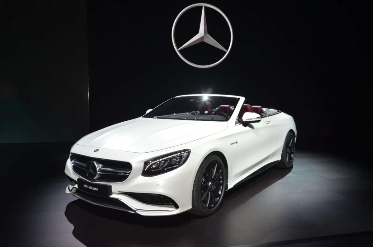 Mercedes SL al Salone di Los Angeles 2015 (4)