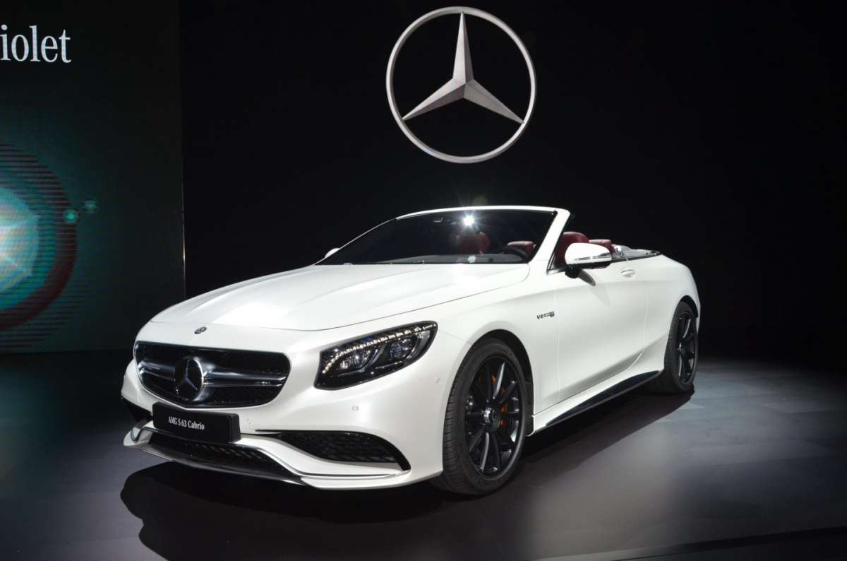 Mercedes SL al Salone di Los Angeles 2015 (5)