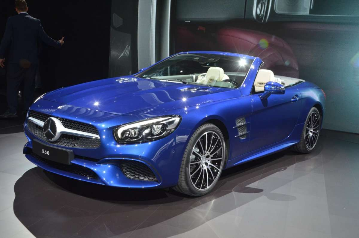 Mercedes SL al Salone di Los Angeles 2015 (7)