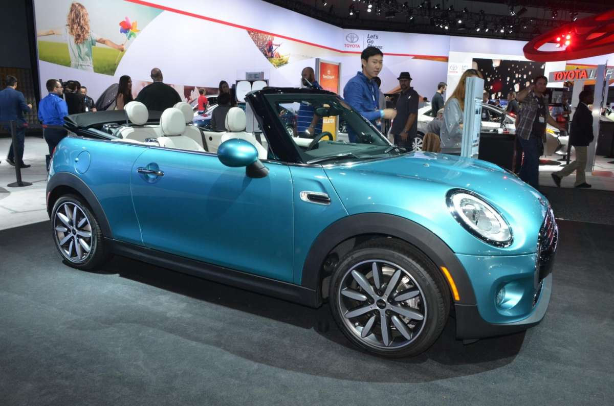 Mini Cabrio al Salone di Los Angeles 2015 (1)