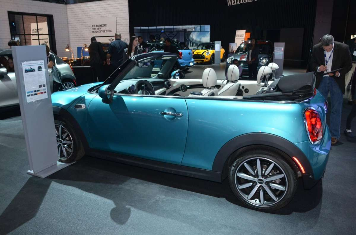 Mini Cabrio al Salone di Los Angeles 2015 (5)