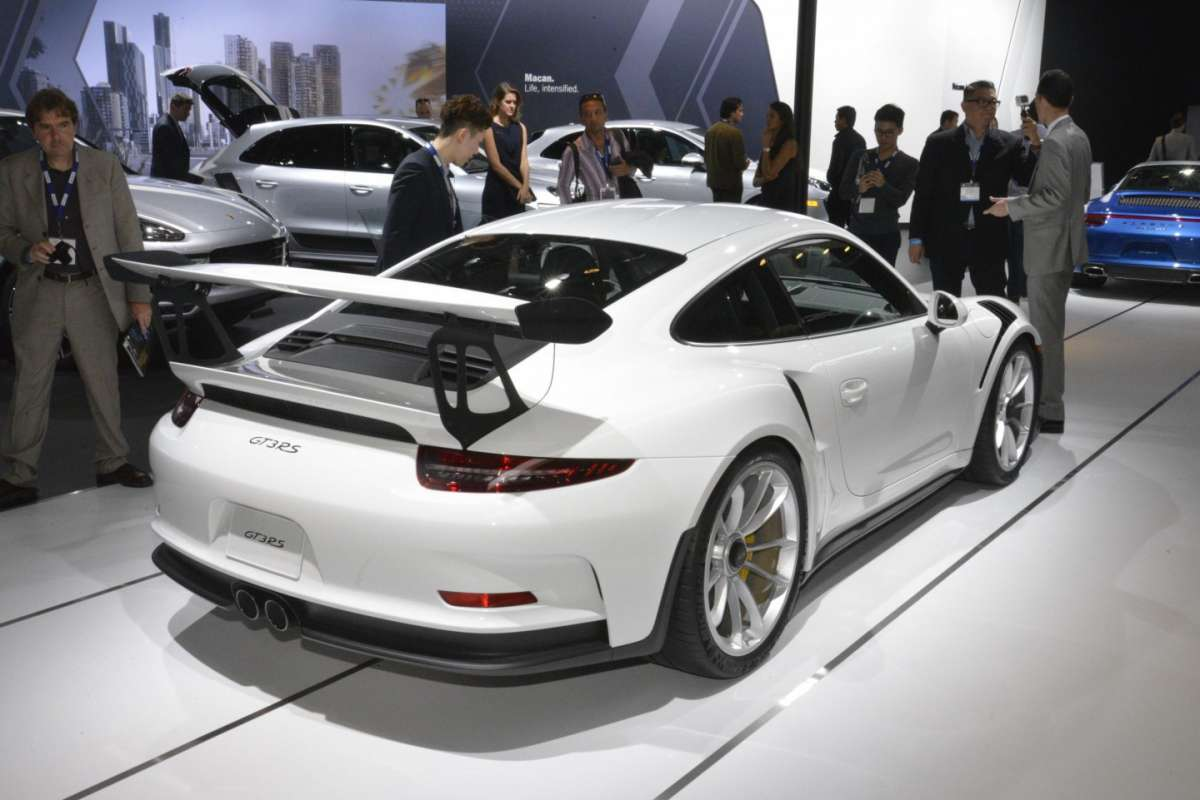 Porsche 911 GT3 RS al Salone di Los Angeles 2015 (3)
