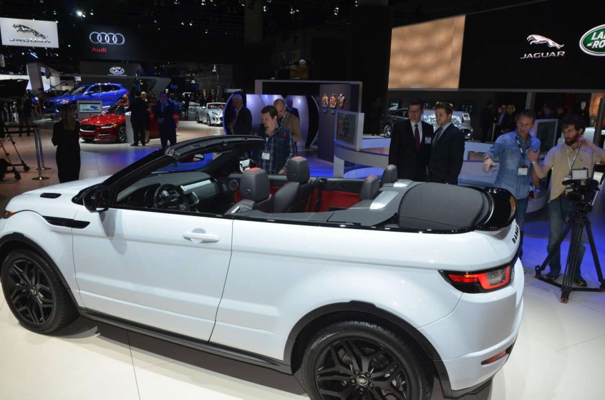 Range Rover Evoque Convertible al salone di Los Angeles 2015 (1)