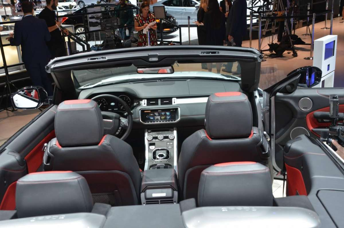 Range Rover Evoque Convertible al salone di Los Angeles 2015 (3)