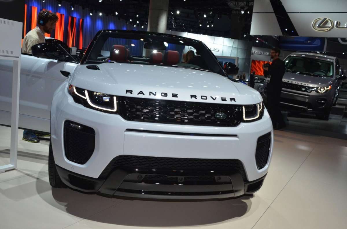 Range Rover Evoque Convertible al salone di Los Angeles 2015 (4)