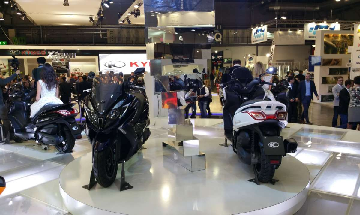 Kymco Downtown 350i sotto ai riflettori