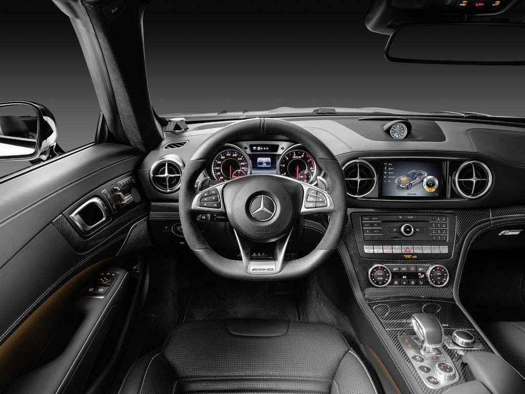 Mercedes SL 2016 design interni