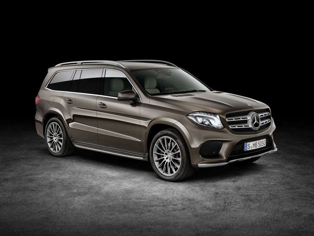 Mercedes GLS 2016 design carrozzeria