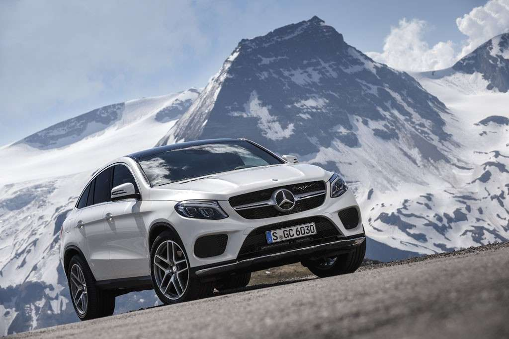 Mercedes GLE Coupé 2016 design anteriore