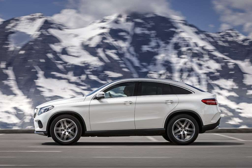 Mercedes GLE Coupé 2016 dimensioni