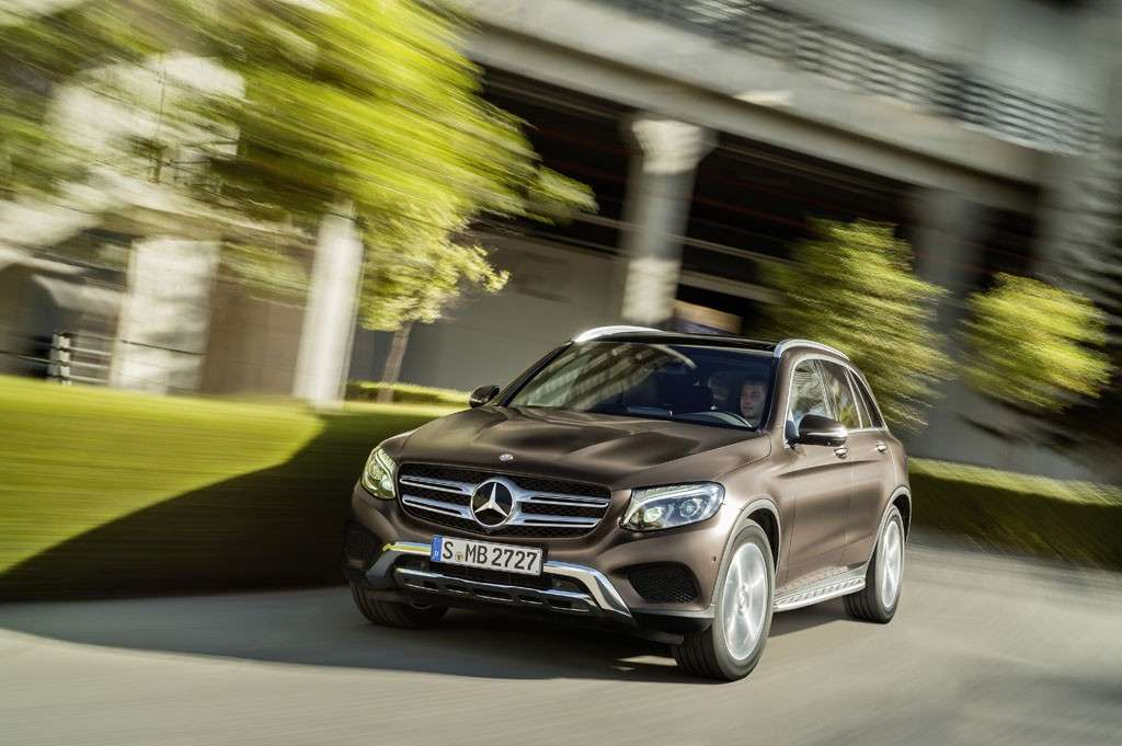 Mercedes GLC 2016 design