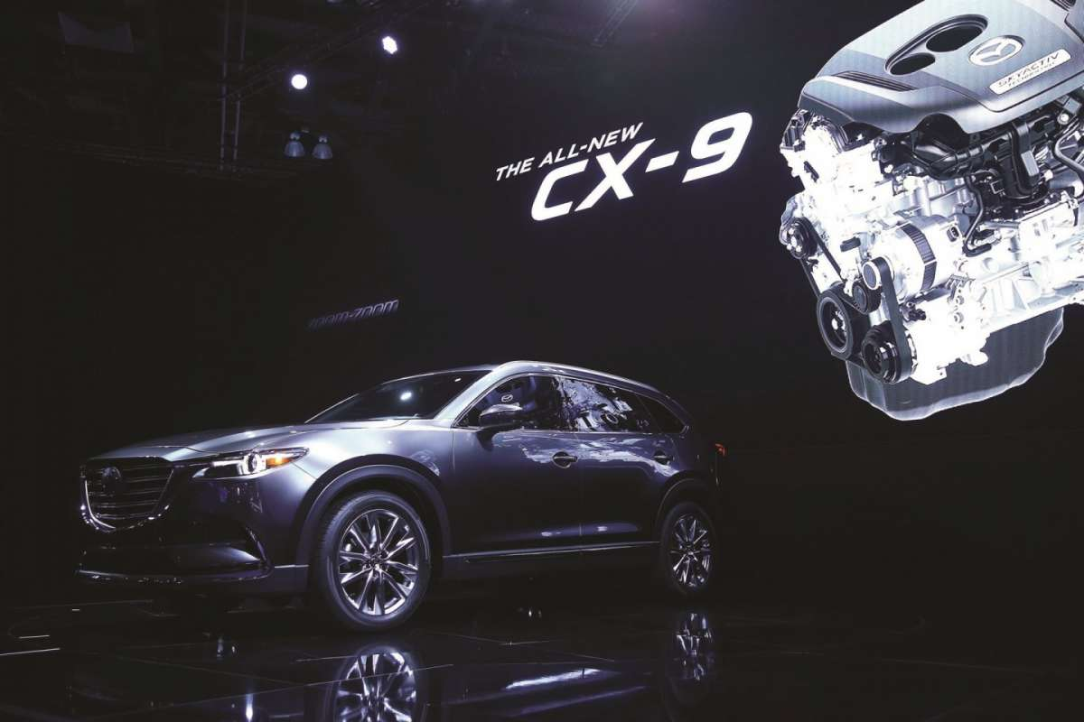 Mazda CX-9 2016 salone di Los Angeles 2015