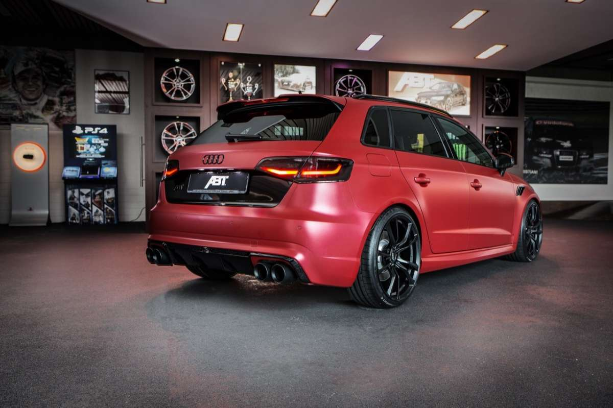Audi RS3 450 Individual by ABT dietro