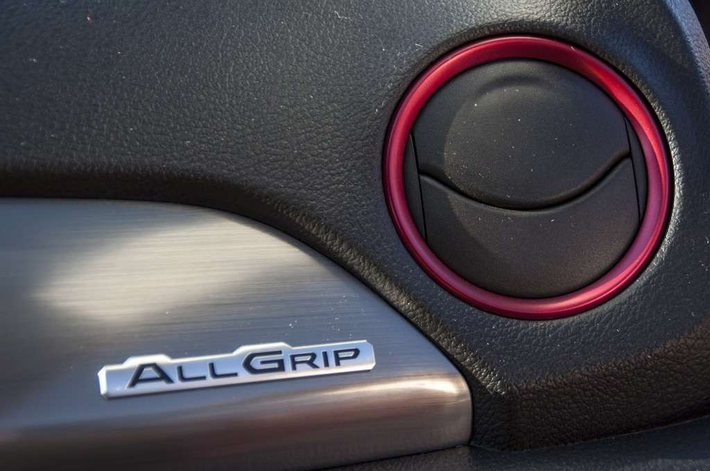 Suzuki Vitara S interni: logo All Grip
