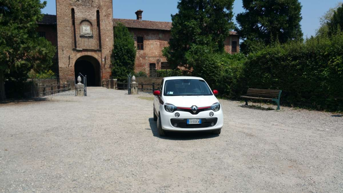 Renault Twingo TCe frontale