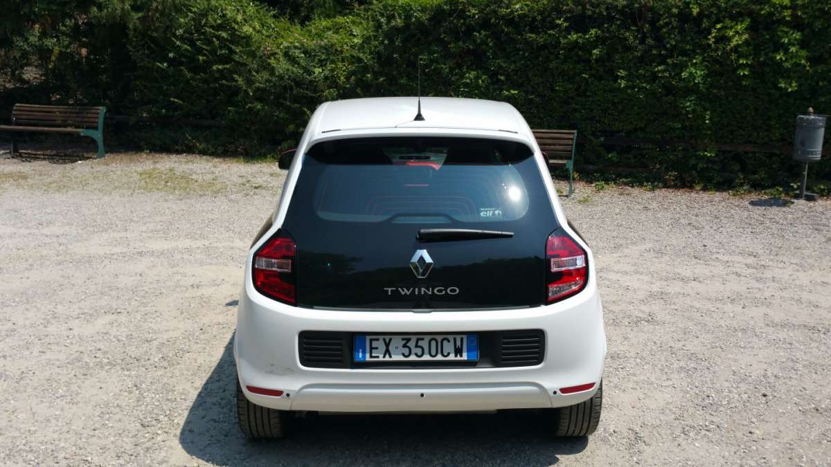 Renault Twingo TCe posteriore