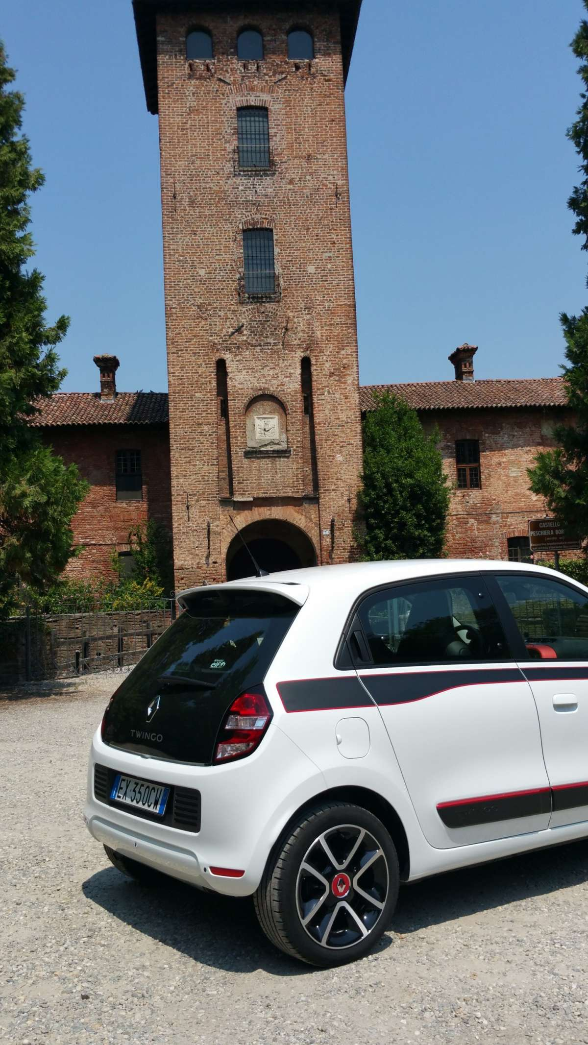 Renault Twingo TCe motore posteriore
