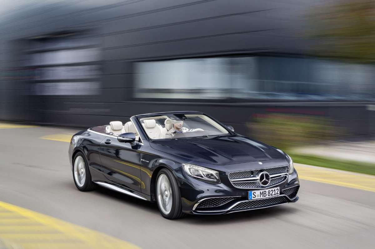 Nuova Mercedes Classe S Cabriolet S65 AMG