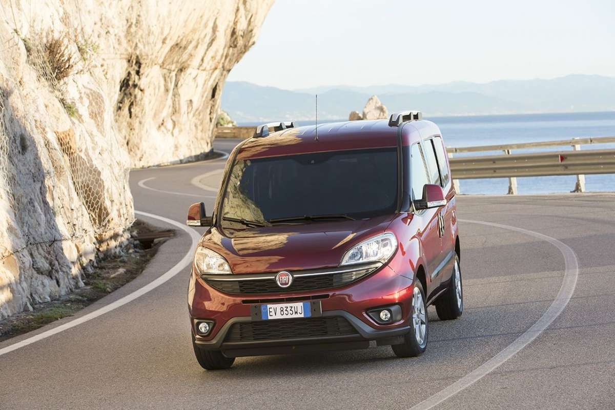 Fiat Doblo Natural Power frontale