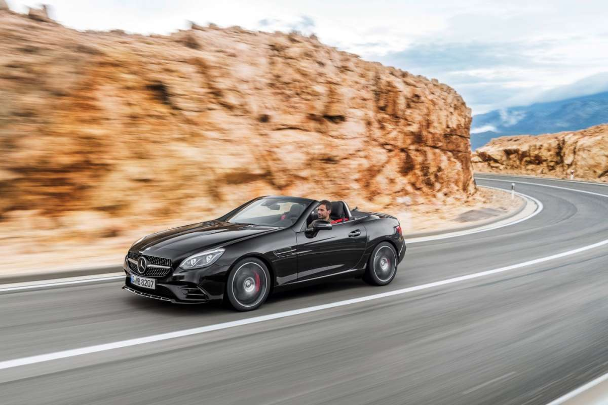 Spider Mercedes SLC