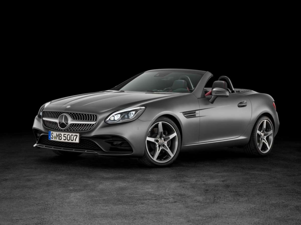 Fari a led su Mercedes SLC