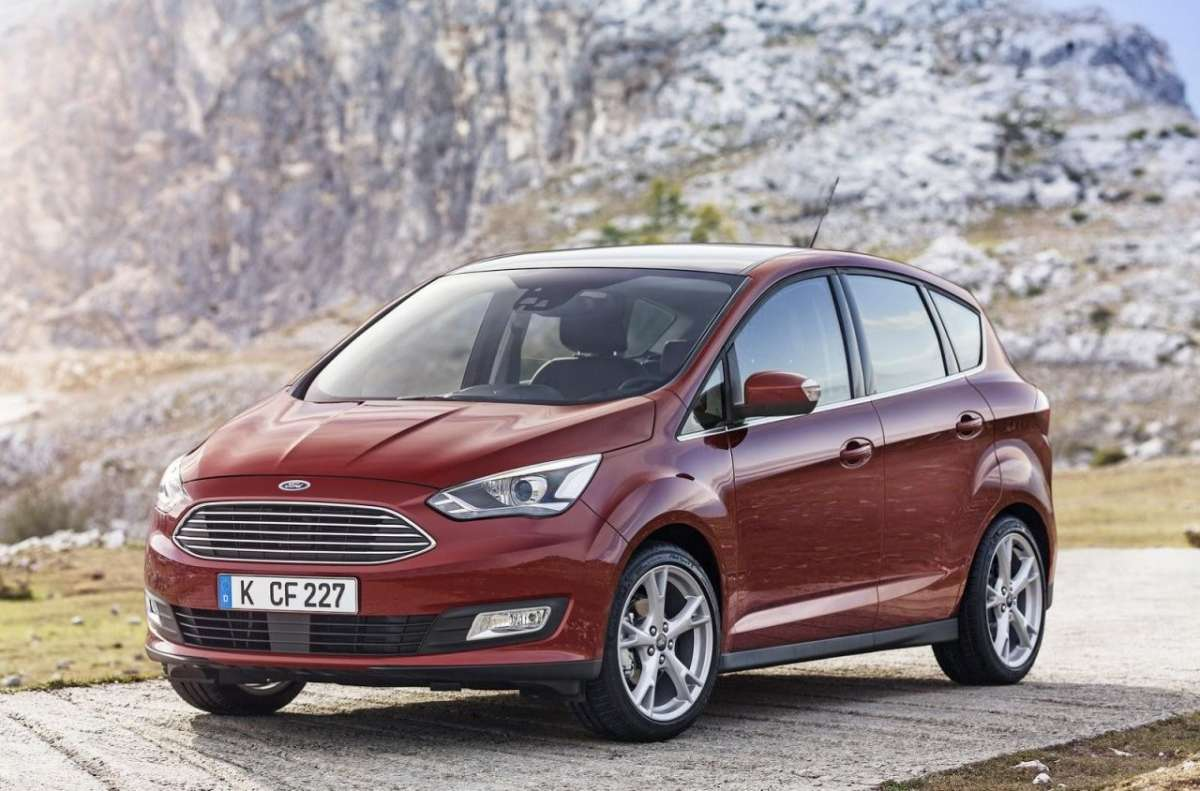 Ford C-Max 2015 GPL frontale