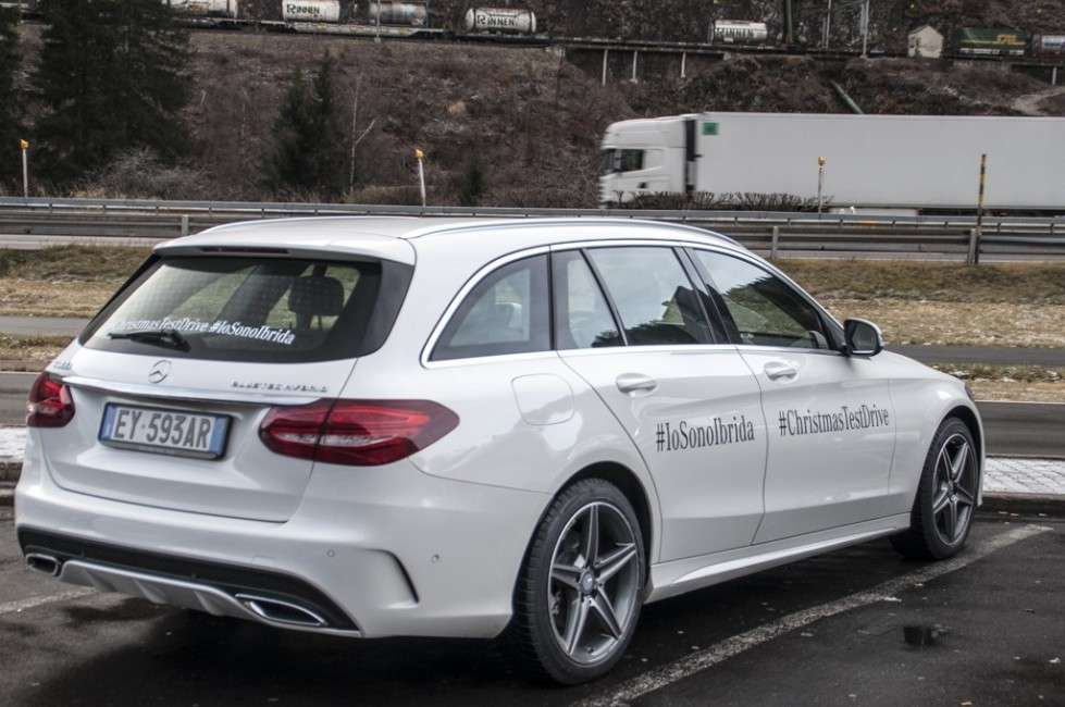 Mercedes C 300 h station wagon