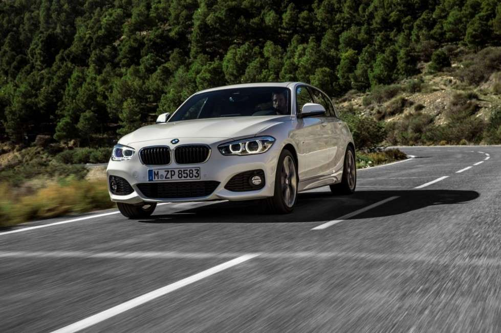 Bmw Serie 1 frontale