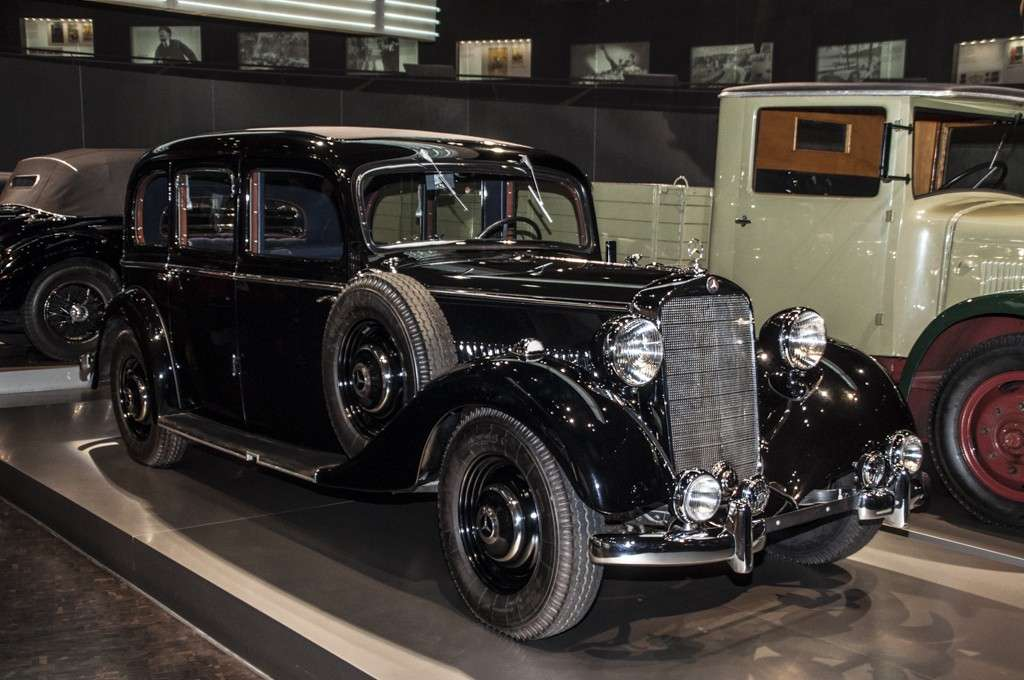 Museo Mercedes-Benz Stoccarda: la limousine diesel