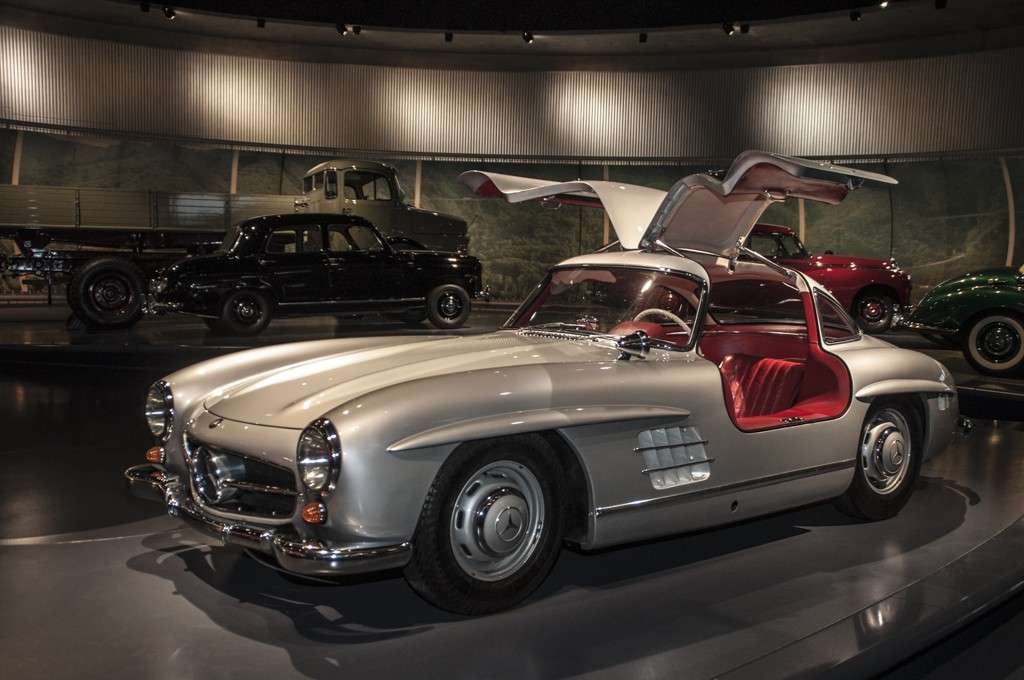 Museo Mercedes-Benz Stoccarda: 300 SL Coupé