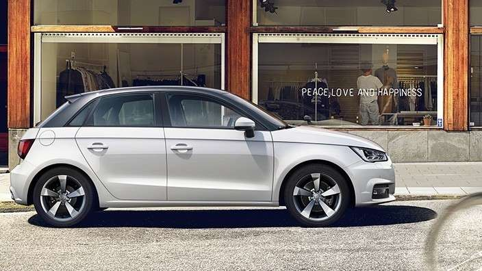 Audi A1 laterale