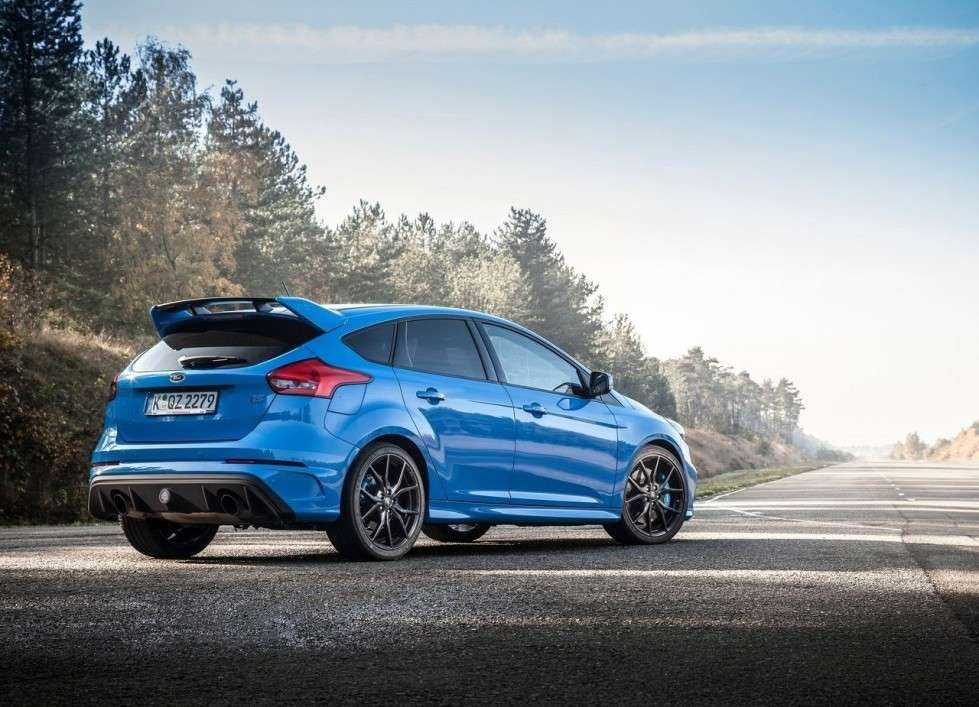 Ford Focus RS posteriore